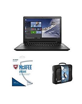 """Lenovo 15"""" Laptop 4GB 1TB Bundle"""