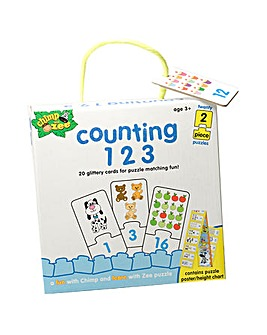 Chimp & Zee Counting 123 Puzzle