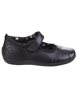 Hush Puppies Cindy Leather Girls Shoe