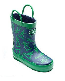 Chipmunks Toy Soldier Wellingtons
