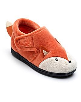 Chipmunks Mr Fox Slippers
