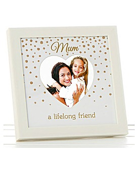 Glitter Dot Photo Frame