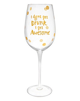 Get Awesome Large Wine Glass