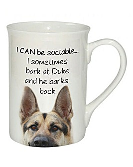 Personalised Doggy Mug