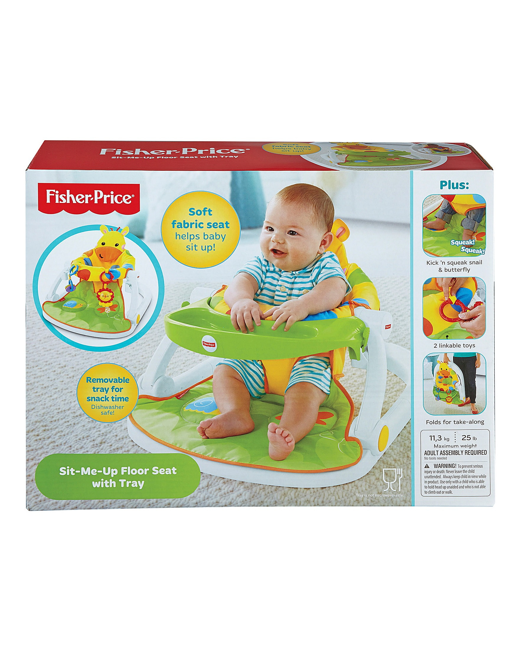 Fisher Price Giraffe Sit Me Up Seat