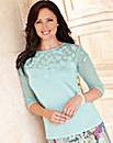 Hudson & Onslow Floral Sweater