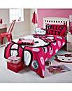 Hello Kitty Ink Duvet Cover Set