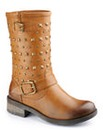 Dolcis Studded Mid Calf Boot EEE Fit
