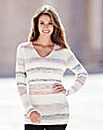 Stripe Twist Jumper