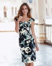 Changes By Together Print Dress
