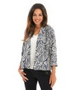 Joanna Hope Print Soft Jacket