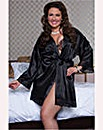Seven Til Midnight Enchating Satin Robe