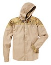Label J Camo Hood Shacket Long