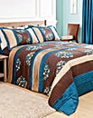 Florence Quilted Throwover Double