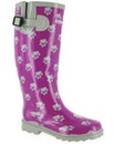 Costwold Collection Dog Paw Welly