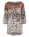 Together Boutique Animal Print Tunic