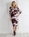 Ava By Mark Heyes Cloud Print Dress