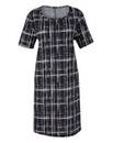 Edit Mono Print Dress
