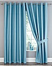 Ferndale Faux Silk Blackout Curtains