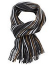 Black Label Brent Stripe Scarf