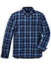 French Connection Blue Check Shirt