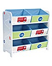 Boys Vehicle 6 Bin Storage