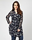 Joe Browns Floral Longline Shirt