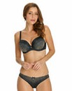 Panache Black Odette Wired Balcony Bra
