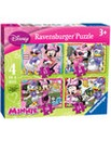 Disney Minnie Mouse Jigsaw 4 in Box