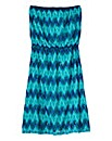 Zigzag Bandeau Dress