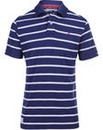 Brakeburn Navy Stripe Polo