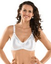 Naturana White Moulded Minimiser Bra