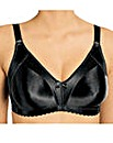 Naturana Black Moulded Minimiser Bra