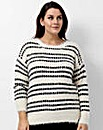 Koko Abstract Pattern Jumper