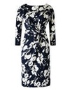 Grace Print Twist Knot Dress