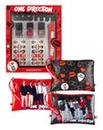 1D 3 Cosmetic Bags & FREE Nail Art Set