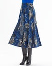 Nightingales Print Skirt Length 32in