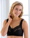 Miss Mary Stylish Lace Black Bra