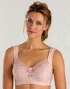 Miss Mary Cotton Non Wired Pink Bra
