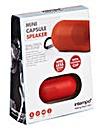 Intempo Mini Capsule Speaker Red