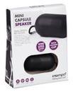 Intempo Mini Capsule Speaker Black