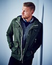 Flintoff By Jacamo Four Pocket Coat Long