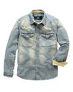 UNION BLUES Davie Denim Shirt Long