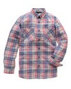 Jacamo Juno Long Sleeve Check Shirt Reg
