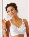 Miss Mary of Sweden White Non Wired Bra