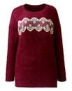 Angel Ribbons Lace Trim Jumper