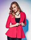Grazia Soft Peplum Jacket