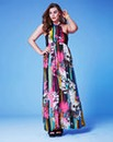 Grazia Printed Maxi Dress