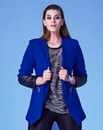 Grazia Zip Trim Jacket