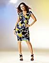 Kelly Brook Print Jersey Wrap Dress